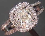 SPECIAL! 0.95ct J SI1 Cushion Cut Diamond Ring R4924