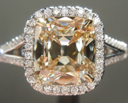 SOLD...Cushion Diamond Ring: 2.04ct Q-R SI1 Cushion Cut GIA Split Shank Halo R4905