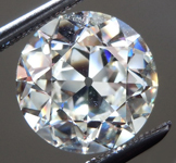 SOLD.....Loose Colorless Diamond: 3.06ct J VS1 Old European Cut GIA Remarkable Stone R4961