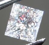 SOLD.... Loose Colorless Diamond: .72ct D VS1 Princess Cut GIA Beautiful Cut R4951