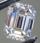 SOLD....Loose Colorless Diamond: .58ct E VVS2 Emerald Cut GIA Stunning Stone R4955