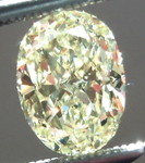 SOLD.....Loose Yellow Diamond: 1.25ct Fancy Light Yellow IF Oval Shape GIA Internally Flawless R4928