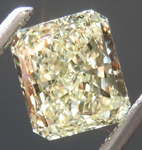 SOLD.....Loose Yellow Diamond: 1.06ct Y-Z SI1 Radiant Cut GIA Excellent Color R4964