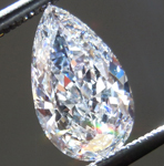 SOLD.....Loose Colorless Diamond: .90ct D SI2 Pear Shape SI2 GIA Gorgeous Stone R4957