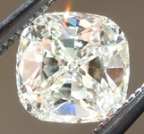 SOLD...Loose Diamond: .67ct J VS2 Cushion Cut GIA Really Cool Cut R4919