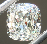 SOLD... .84ct K VS1 Cushion Cut Diamond GIA R5097