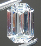 SOLD.... Loose Colorless Diamond: .96ct F VS1 Emerald Cut GIA Really Cool Cut R4778