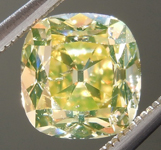 SOLD....Old Mine Brilliant: 1.38ct Fancy Brownish Yellow I1  Branded DBL Modern Antique Diamond GIA R5164