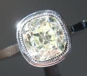 1.42ct O-P SI1 Old Mine Brilliant Diamond Ring R5165