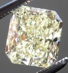 SOLD....Loose Yellow Diamond: 1.20ct Fancy Light Yellow Internally Flawless Radiant Cut GIA R5200