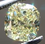 SOLD.... Loose Yellow Diamond: 1.02ct Fancy Yellow VS1 Cushion Cut Fabulous Stone R5221