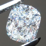 SOLD...Loose Colorless Diamond: .76ct D VS1 Cushion Cut GIA Tons of Sparkle R5294