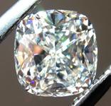 SOLD.... Loose Colorless Diamond: .57ct H VVS2 Cushion Cut GIA Amazing Cut R5315