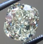 SOLD...Loose Cushion Cut Diamond: 1.54ct S-T VVS1 Cushion Cut GIA Great Cut Great Price R5320
