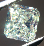 SOLD.....Loose Yellow Diamond: .91ct Fancy Light Yellow VS1 Radiant Cut GIA Great Price R5156