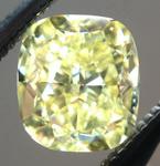 SOLD...Loose Yellow Diamond: .70ct Fancy Intense Yellow VVS2 Cushion Cut GIA Beautiful Cut R5335