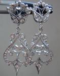 SOLD...0.37cts E-F VS Round Brilliant Diamond Earrings R5108