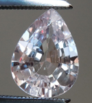 SOLD.... Loose Pink Sapphire: 1.68ct Faint Pink Pear Shape Sapphire Lovely Shape R4991