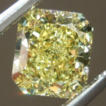 SOLD....Loose Yellow Diamond: .83ct Fancy Intense Yellow VVS2 Radiant Cut GIA Intense Color R5375