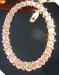 Diamond Pendant: .90ctw G VS2-SI1 Round Brilliant Diamond Oval Pendant R5544