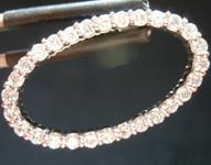Diamond Pendant: .70ctw G SI Round Brilliant Diamond Oval Pendant R5545
