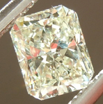SOLD....Loose Diamond: .39ct N SI2 Radiant Cut GIA Soft Buttery Color R5466