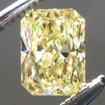 SOLD...Loose Yellow Diamond: .47ct Fancy Intense Yellow VS1 Radiant Cut GIA Gorgeous Cut R5444