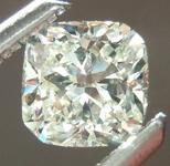 SOLD.....Loose Diamond: .41ct M VS1 Cushion Cut GIA Beautiful Cut R5463
