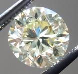 SOLD.....Loose Yellow Diamond: .98ct Fancy Light Yellow VS1 Round Brilliant GIA Rare Beauty R5583