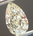 SOLD...Loose Diamond: 1.12ct N VS2 Pear Shape GIA Organic Shape R5504