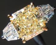 SOLD...2.59ct Y-Z VS1 Radiant Cut Diamond Ring GIA R5606
