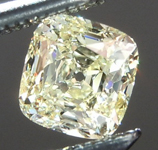 SOLD...Loose Yellow Diamond: .50ct W-X Internally Flawless Cushion Cut GIA Stunning R5623