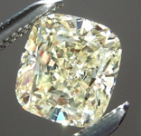 SOLD...Loose Yellow Diamond: .72ct W-X Internally Flawless Cushion Cut GIA Great Stone R5624