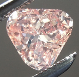 SOLD....Loose Pink Diamond: .51ct Fancy Brownish Orangy Pink Trilliant GIA Cool Stone R5603