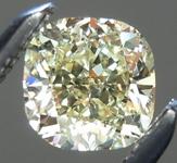 SOLD...Loose Yellow Diamond: .55ct Y-Z Internally Flawless Cushion Cut GIA Great Cut R5646