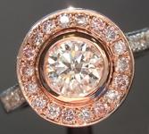 0.60ct G SI2 Round Brilliant Diamond Ring R5612