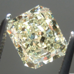 SOLD... Loose Yellow Diamond: 1.30ct Fancy Light Yellow VS1 Radiant Cut GIA Great Cut R5740