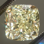 SOLD...Loose Yellow Diamond: 1.81ct Y-Z VS1 Cushion Cut GIA Great Sparkle R5741