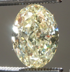 SOLD...oose Yellow Diamond: 1.55ct W-X VS1 Oval Shape GIA Well Cut R5725