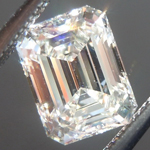 SOLD.....Loose Colorless Diamond: .75ct J VS2 Emerald Cut GIA Phenomenal Stone R5764