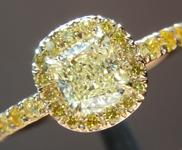 SOLD.....0.50ct W-X IF Cushion Cut Diamond Ring R5650