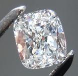 SOLD.....Loose Colorless Diamond: .53ct H VS1 Cushion Cut GIA Fantastic Sparkle R5696