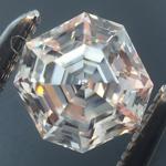SOLD....Loose Colorless Diamond: .49ct F VVS2 Asscher Cut GIA Amazing Cut R5812