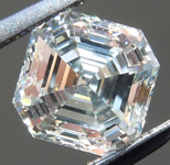 SOLD.....Loose Colorless Diamond: 1.14ct K Internally Flawless Asscher Cut GIA Great Steps R5821