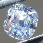 SOLD.... Loose Colorless Diamond: .49ct N VS1 Old Mine Brilliant Strong Blue Florescence R5861
