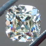 SOLD.....Loose Colorless Diamond: .93ct K VVS1 Old Mine Brilliant GIA Gorgeous Stone R5858