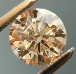 SOLD.....   Loose Brown Diamond: .90ct W-X, Light Brown SI2 Round Brilliant GIA Lovely Color R5837