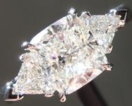 1.54ct H SI1 Cushion Cut Diamond Ring R5848
