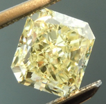 SOLD.....Loose Yellow Diamond: .84ct Fancy Light Yellow Radiant Cut GIA Gorgeous Cut R5890