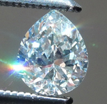 0.36ct Light Green VS1 Pear Shape Diamond R5891